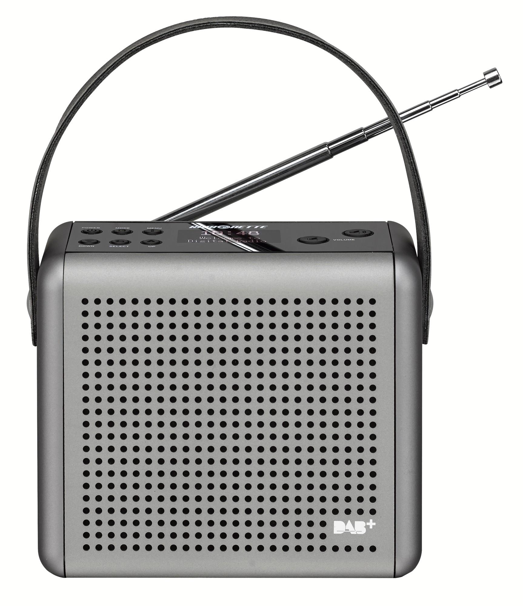 83506 : Radionette DAB+/FM radio RNPDMS14E (sølv)