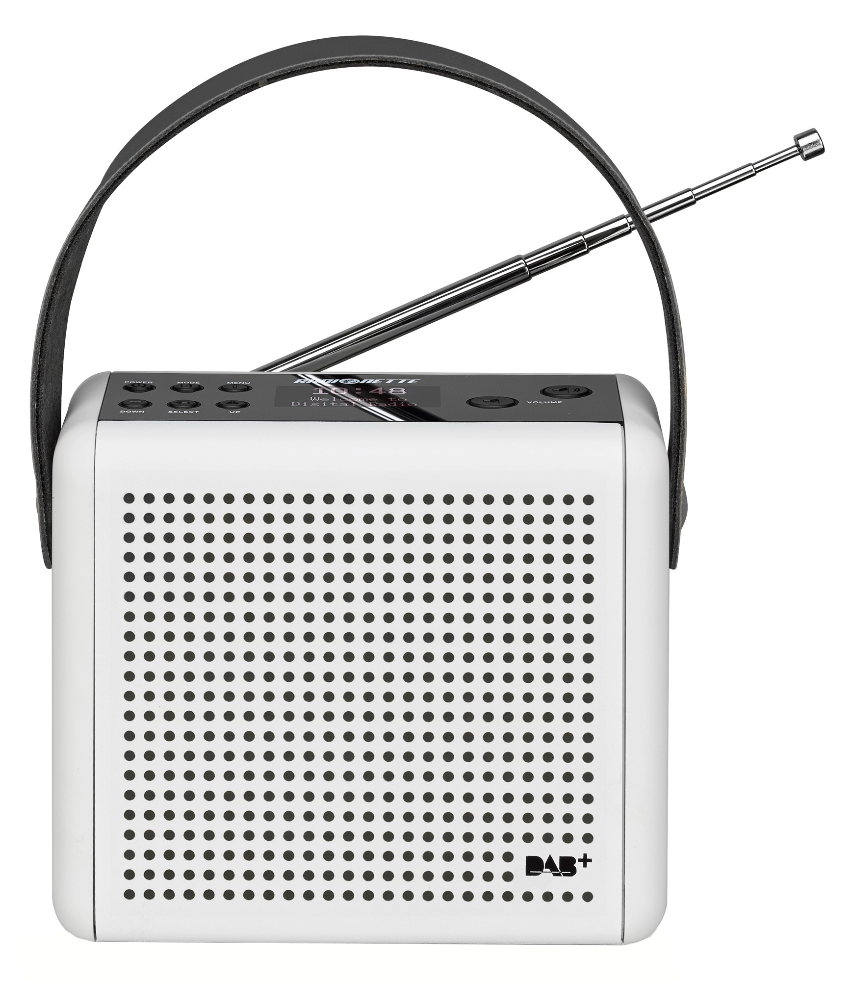 83508 : Radionette DAB+/FM radio RNPDMW14E (hvit)