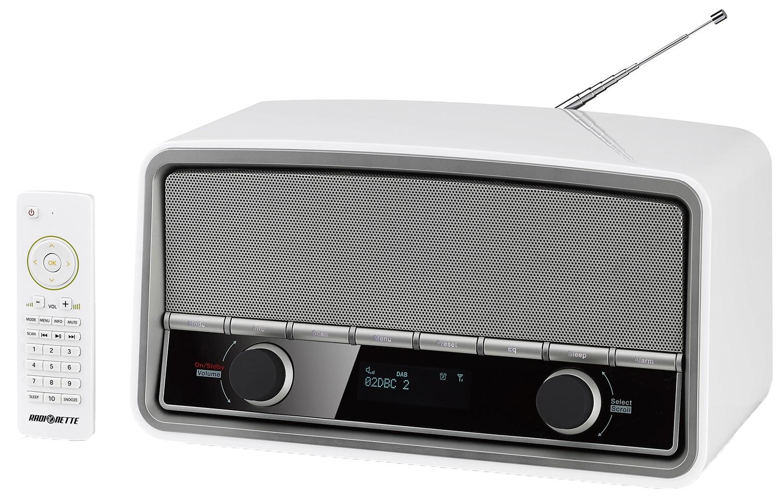 Grange White : Radionette DAB+ radio RNRDWH13E (hvit)