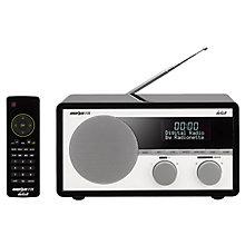 RADIONETTE FM/DAB+/BLUETOOTH RADIO BLACK