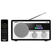 RADIONETTE FM/DAB+/INTERNETT/BLUETOOTH RADIO BLACK