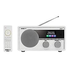 RADIONETTE FM/DAB+/INTERNETT/BLUETOOTH RADIO WHITE