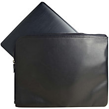 "Sandstrøm Premium 13.3"" leather sleeve"