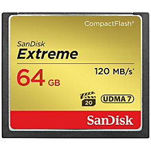 SanDisk Extreme CF Memory Card 64GB