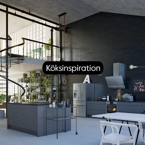 Hitta inspiration och idéer till ditt nya kök