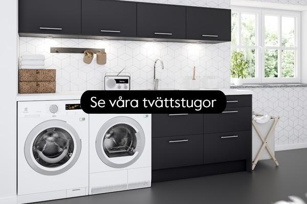 Med en stilfull tvättstuga går tvätten som en dans.