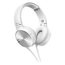 PIONEER ON EAR HEADPHONES WHITE