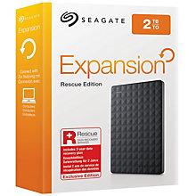 Seagate 2 TB Expansion Portable Rescue Edition