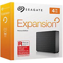 Seagate 4 TB Expansion Desktop Rescue Edition