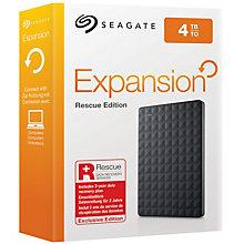 Seagate 4 TB Expansion Portable Rescue Edition