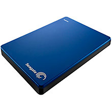 SEAGATE 2TB SLIM BACKUP PLUS HDD BLUE