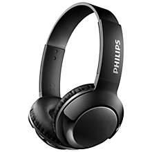 Philips Bass+ trådløse on-ear hovedtelefoner - sort