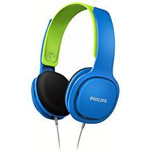 Philips Kids hovedtelefoner SHK2000BL - blå & grøn