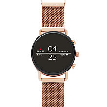 Skagen Falster smartwatch (rose gold)