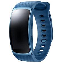 Samsung Gear Fit2 GPS fitnessur - small - blå