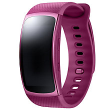 Samsung Gear Fit2 GPS fitnessur - small - pink