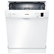 Bosch Series 2 opvaskemaskine SMU24AW01S - hvid