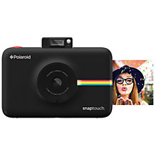 POLAROID SNAP TOUCH CAMERA BLACK