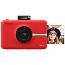 POLAROID SNAP TOUCH CAMERA RED
