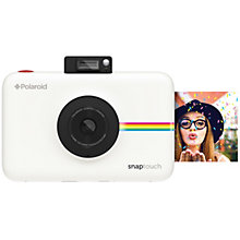 POLAROID SNAP TOUCH CAMERA WHITE