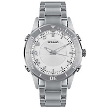 SERANO PREMIUM NOTIFICATION WATCH WHITE