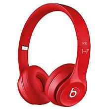 BEATS HEADPHONES SOLO2 OE RED