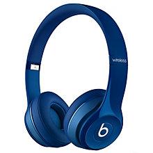 BEATS HEADPHONES SOLO2 WIRELESS OE BLUE