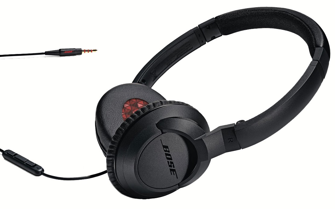 62420 : Bose on-ear hodetelefoner SoundTrue (sort)