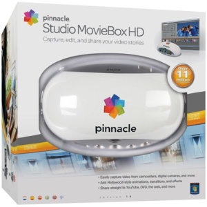 Pinnacle Studio MovieBox HD video editing+adapter
