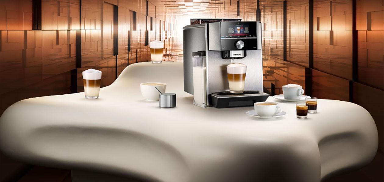 Siemens EQ-sarja - täydellistä kahvia aitoon makunautintoon