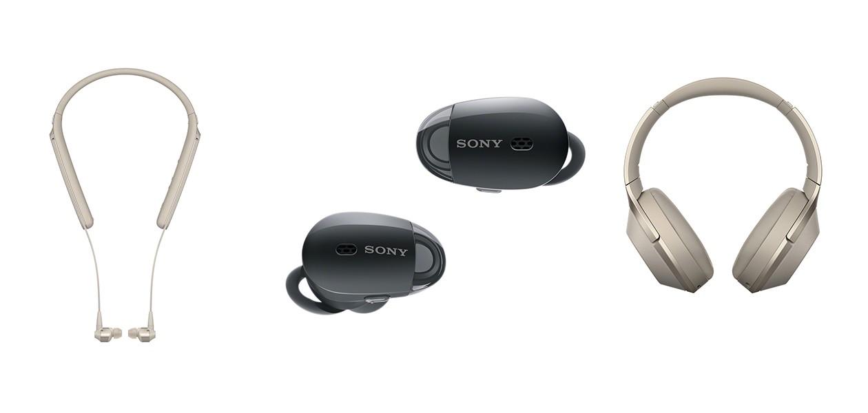Sony 1000x-sarjan langattomat kuulokkeet