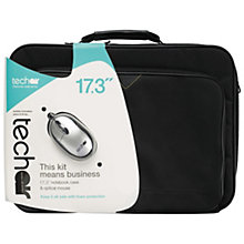 TECHAIR Bag and mouse bundle 17.3""