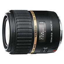 Tamron 60mm f/2.0 Di II SP Macro Sony