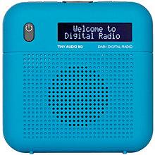 TINY DAB/BAB+/FM RADIO BLUE