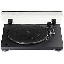 TEAC TURNTABLE BLACK