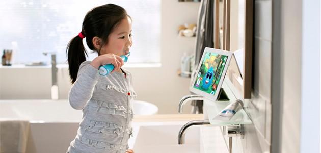 Elektrisk tandbørste til børn
