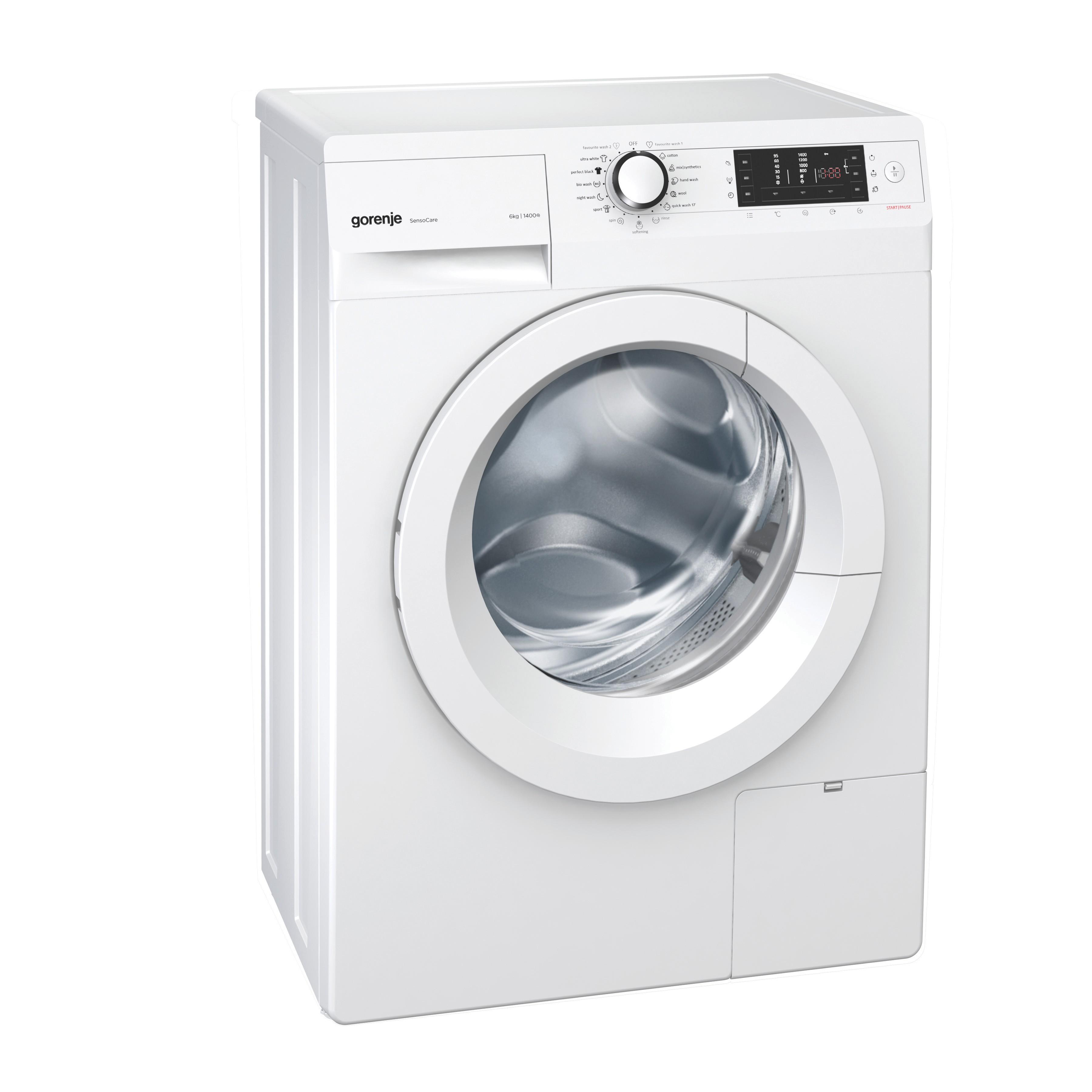 Gorenje tvättmaskin W6543S - Tvättmaskin - Elgiganten