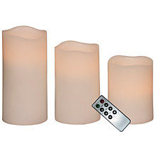 WAX CANDLES LED LIGHT REMOTE CONTROL