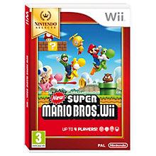 WII-NEW SUPER MARIO