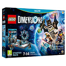 WIIU-LEGO DIMENSIONS STARTER PACK