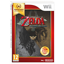 WII-LEGEND OF ZELDA SELECT