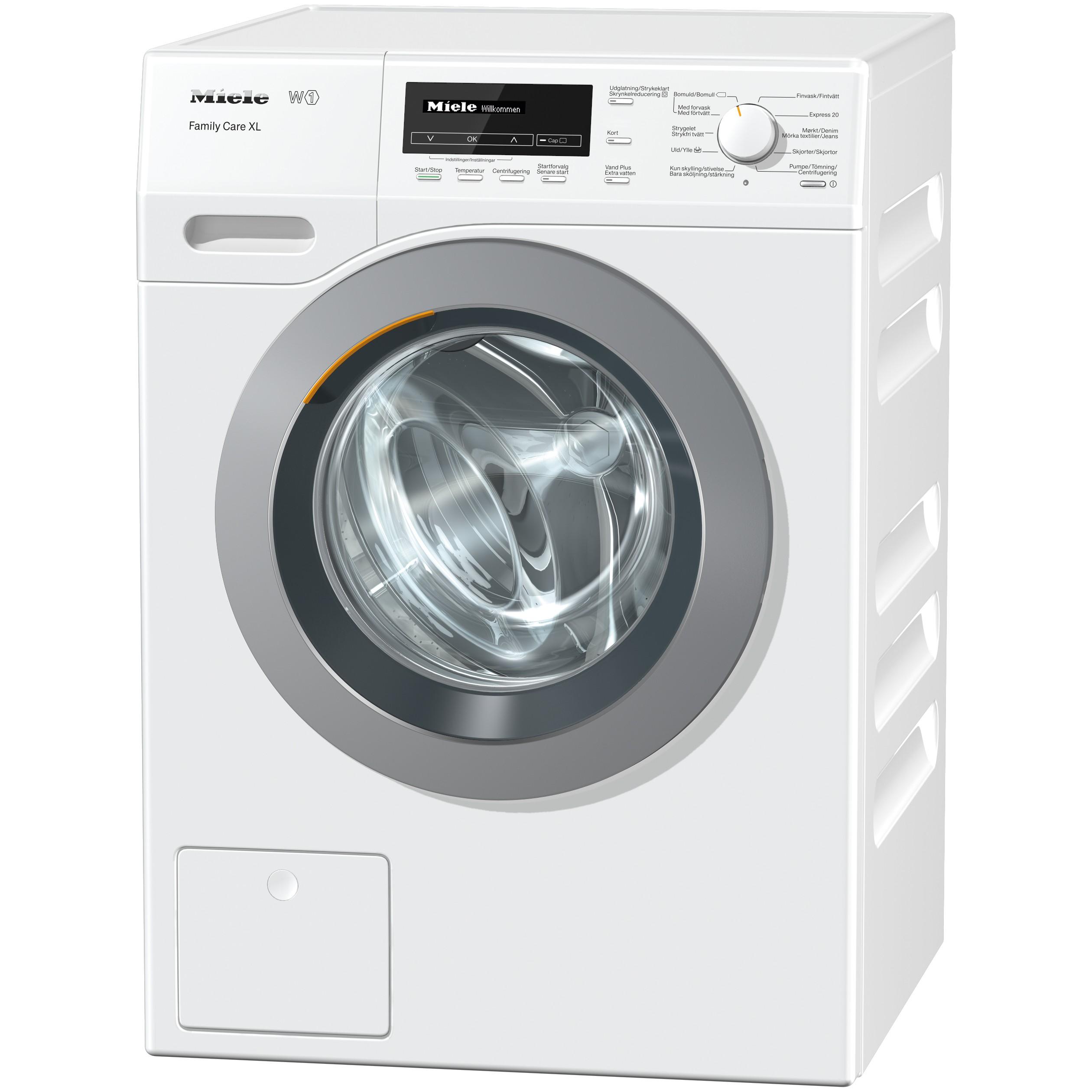 Miele tvättmaskin WKB110 (vit) - Tvättmaskin - Elgiganten