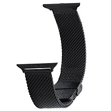 Wristouch 42 mm Mesh Stainless steel Black