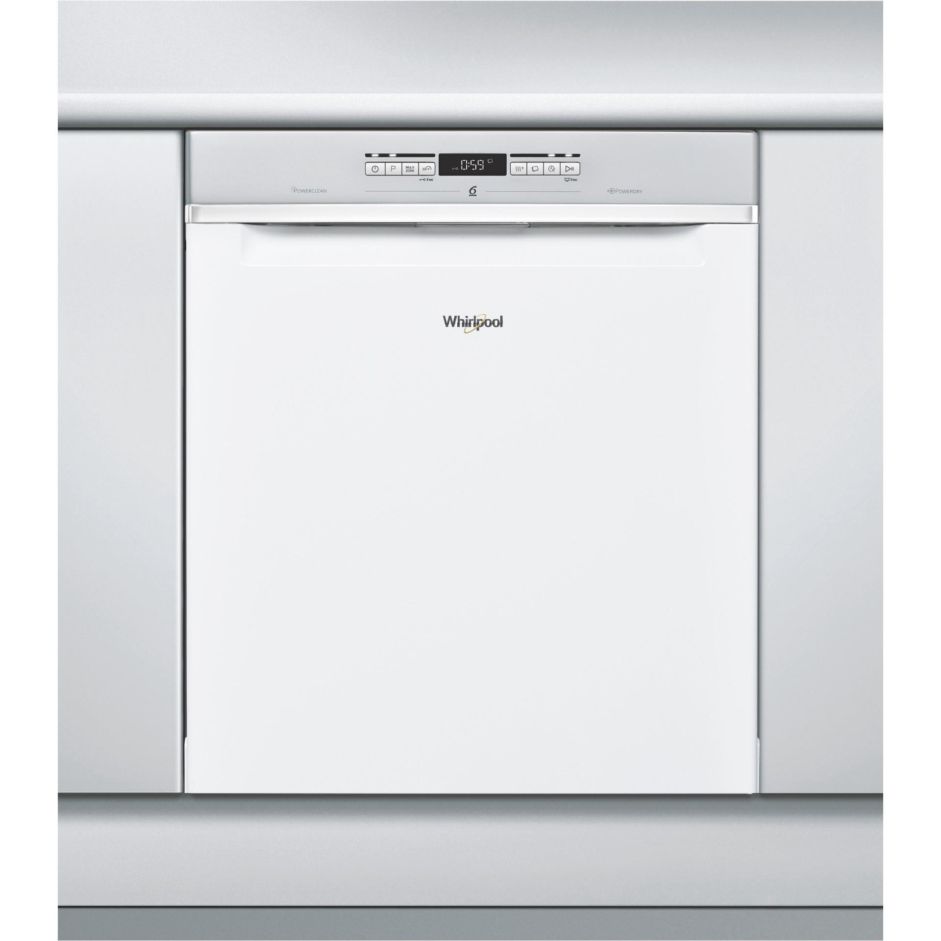 859991015910 : Whirlpool oppvaskmaskin WUO3T222L (hvit)
