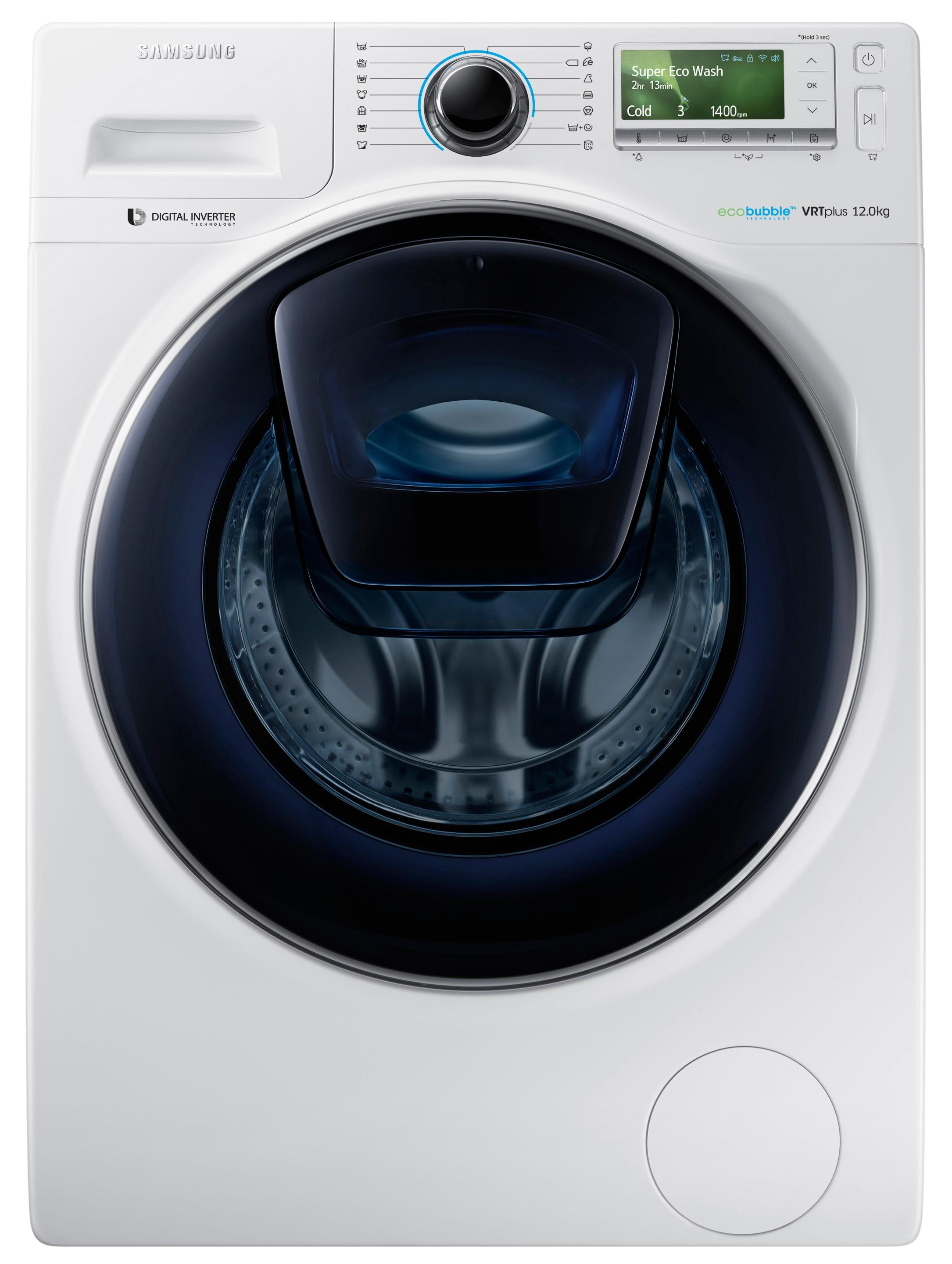 Samsung AddWash tvättmaskin WW12K8402OW - Tvättmaskin - Elgiganten