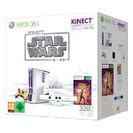 Xbox 360 S Limited Edition Kinect Star Wars Bundle