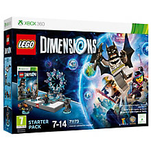 X360-LEGO DIMENSIONS STARTER PACK