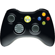 XBOX 360-WIRELESS CONTROLLER BLACK