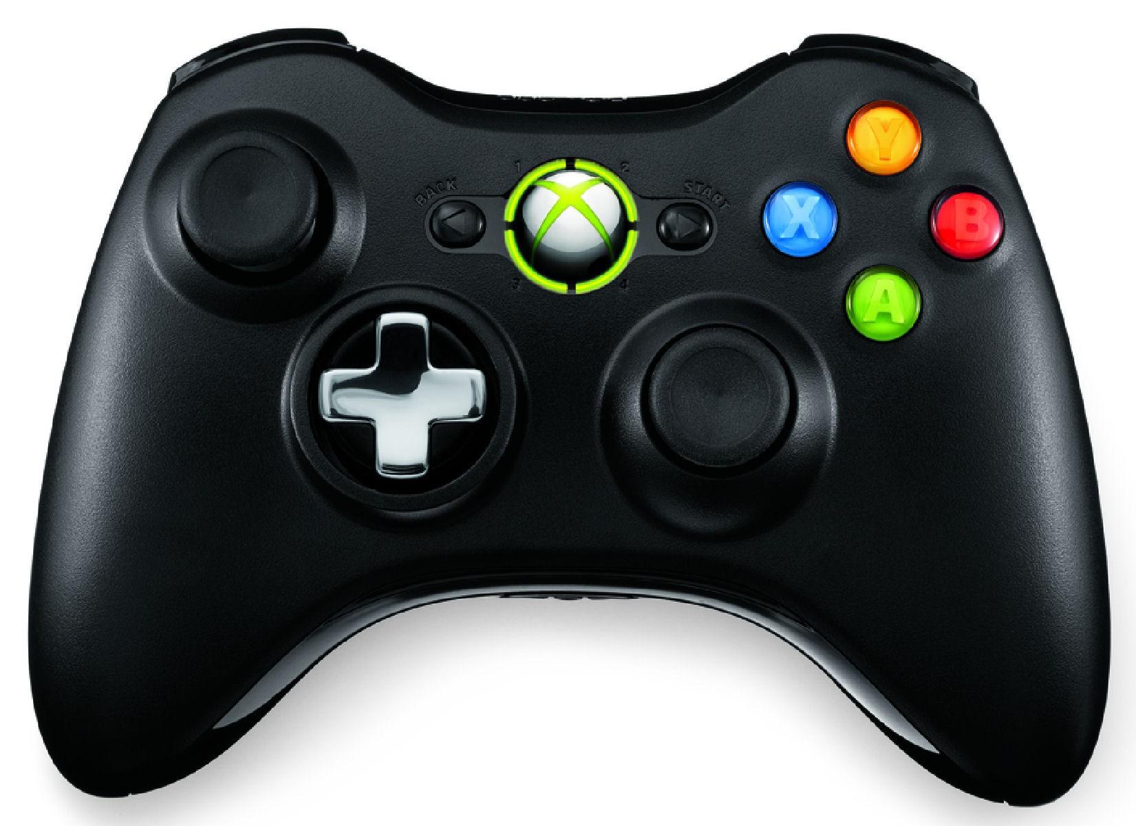 QFF-00010 : Xbox 360 trådløs kontroll + Play & Charge utstyr