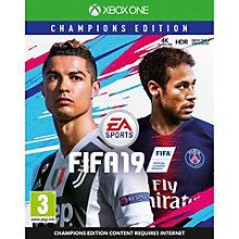 XONE-FIFA 19 CHAMPIONS EDITION